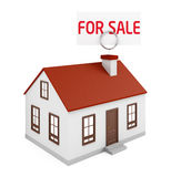 Дом для продажи Стоковые Изображения RF