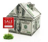 Дом для продажи Стоковые Изображения
