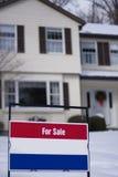 Дом для продажи Стоковая Фотография