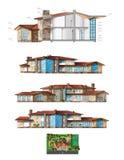 дом иллюстрация вектора