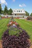дом 2 цветков стоковые изображения