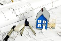 дом 4 строителей Стоковая Фотография RF