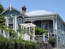 дом 4 colonial Стоковые Изображения RF