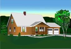 дом 5 Иллюстрация штока