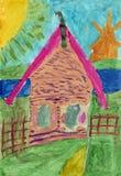 Дом Стоковое Изображение
