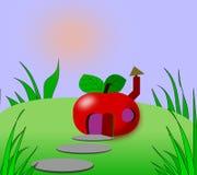 дом appel иллюстрация штока