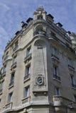 Дом Benjaman Франклина, Париж Франция, угловое Raynouard и певица руты в районе Passy жили здесь 1777-1785, ПАРИЖ FRAN Стоковые Изображения