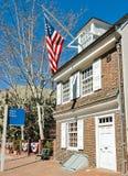 Дом Betsy Ross Стоковое Изображение RF