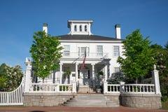 Дом Blaine в Augusta, Мейне стоковое изображение