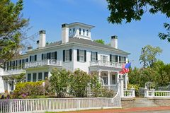 Дом Blaine, Augusta, Мейн, США стоковое изображение