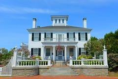 Дом Blaine, Augusta, Мейн, США Стоковые Изображения RF