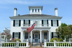Дом Blaine, Augusta, Мейн, США стоковое фото