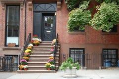 дом brooklyn стоковая фотография