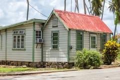 Дом Chattel Барбадос Стоковая Фотография