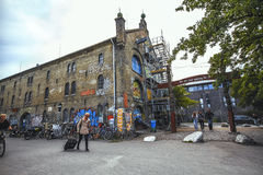 Дом Christiania Фритаун Christiania стоковое фото