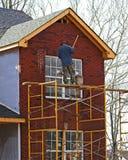 дом contruction новая Стоковая Фотография RF