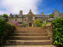 дом cotehele стоковое фото rf