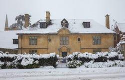 Дом Cotswold периода Вильяма и Mary Стоковые Изображения