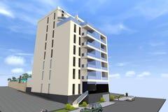 дом 3D представляет в Армении Стоковые Фотографии RF