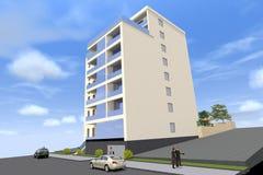 дом 3D представляет в Армении Стоковая Фотография RF