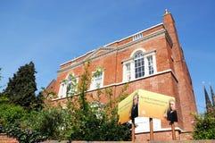 Дом Derasmus Darwins, Lichfield, Великобритания стоковые изображения rf