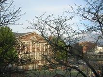 Дом Dudley, Гарвардский университет, Кембридж, Массачусетс, США стоковое изображение