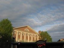 Дом Dudley, Гарвардский университет, Кембридж, Массачусетс, США стоковые изображения rf