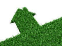 дом eco стоковая фотография rf