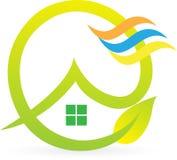Дом Eco Стоковые Изображения RF