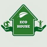 Дом Eco Стоковое Фото