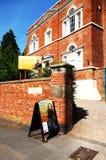 Дом Erasmus Дарвина, Lichfield стоковое фото rf
