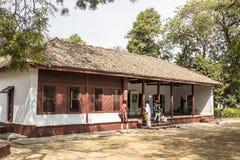 Дом Gandhis стоковое изображение rf