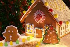 дом gingerbread домодельная Стоковая Фотография RF