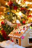 дом gingerbread 01 Стоковые Фото
