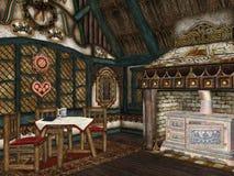 дом gingerbread Иллюстрация штока