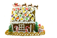 дом gingerbread стоковое изображение