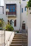 Дом Hayim Nahman Bialik в Тель-Авив Стоковые Фотографии RF