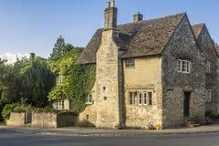 Дом Lacock Уилтшир Англия Великобритания Стоковая Фотография