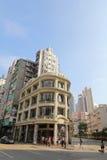 Дом lau схвата Lui Seng Chun старый на Гонконге Стоковые Фотографии RF