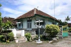 Дом Limasan традиционный Стоковое Фото
