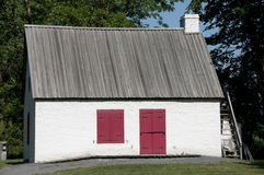 Дом Miller's - Ile Perrot - Канада Стоковые Изображения RF