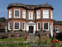 Дом Missenden свойство XVIII века грузинское и здание ранга II перечисленное стоковое фото