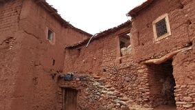 Дом moroccon berber сделанный из глины Стоковые Изображения
