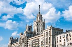 дом moscow Россия s stalin Стоковое фото RF