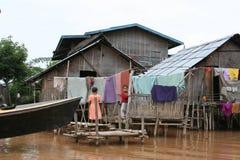 дом myanmar стоковое фото rf