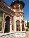 Дом Navajas в Torremolinos, Косте del Sol стоковое фото rf