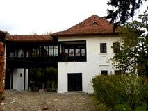 Дом Nicolae Iorga, Valenii de Munte, Румынии стоковая фотография rf
