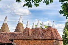 Дом Oast в Сассекс, Великобритании Стоковое Изображение
