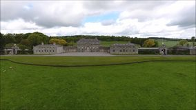 Дом Russborough Wicklow Ирландия сток-видео