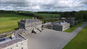 Дом Russborough Wicklow Ирландия видеоматериал